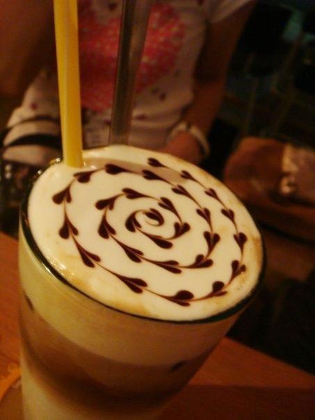 板橋新埔捷運美食-rainbows彩虹咖啡-咖啡拉花-牛辣麵 (3)