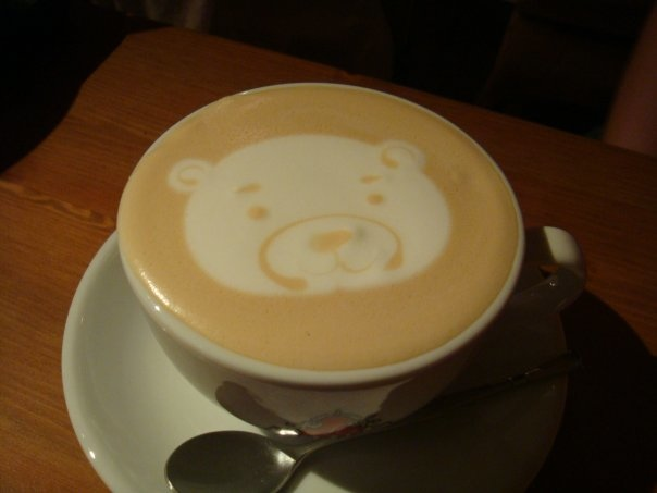板橋新埔捷運美食-rainbows彩虹咖啡-咖啡拉花-牛辣麵 (5)
