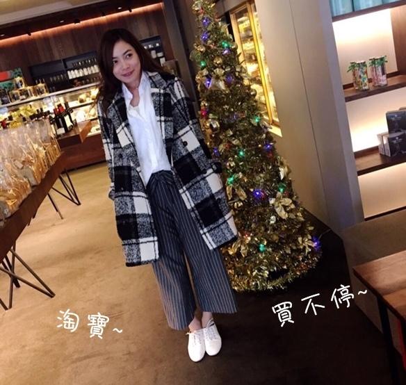 淘寶買衣服-supernini獨家定製-nini家-皮裙寬褲襯衫 (281)