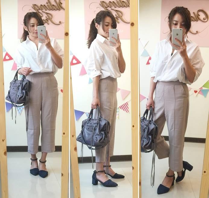 淘寶買衣服-supernini獨家定製-nini家-皮裙寬褲襯衫 (24)