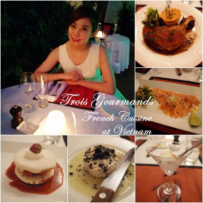 越南旅遊胡志明市自助旅行必吃法國料理推薦法國餐廳trois gourmands 3G法國料理超威甜點美食起司 (2)