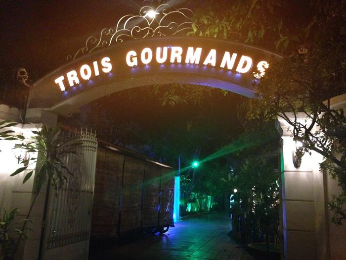 越南旅遊胡志明市自助旅行必吃法國料理推薦法國餐廳trois gourmands 3G法國料理超威甜點美食起司 (12)