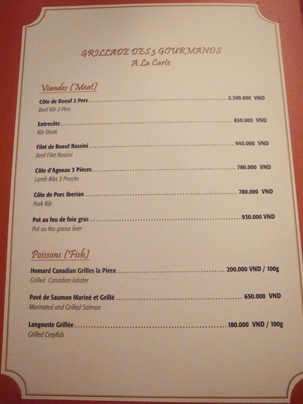 越南旅遊胡志明市自助旅行必吃法國料理推薦法國餐廳trois gourmands 3G法國料理超威甜點美食起司 (75)