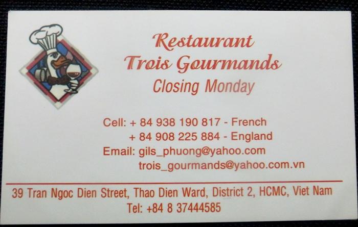 越南旅遊胡志明市自助旅行必吃法國料理推薦法國餐廳trois gourmands 3G法國料理超威甜點美食起司 (1)