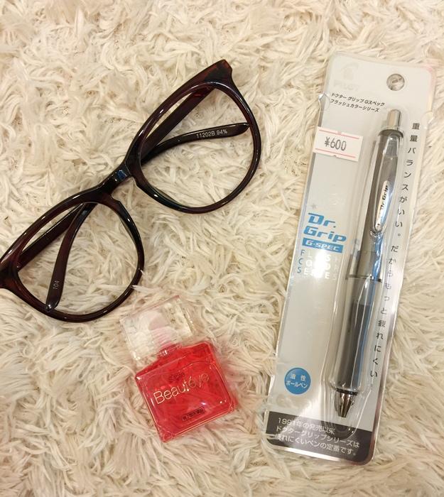 東京旅遊自助旅行-代官山CouCou 315円均一價粉紅可愛雜或小店+戰利品 (9)