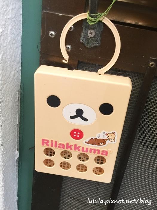 日本京阪戰利品-日本藥妝戰利品-長效型防蚊掛飾-拉拉熊海賊王 (1)