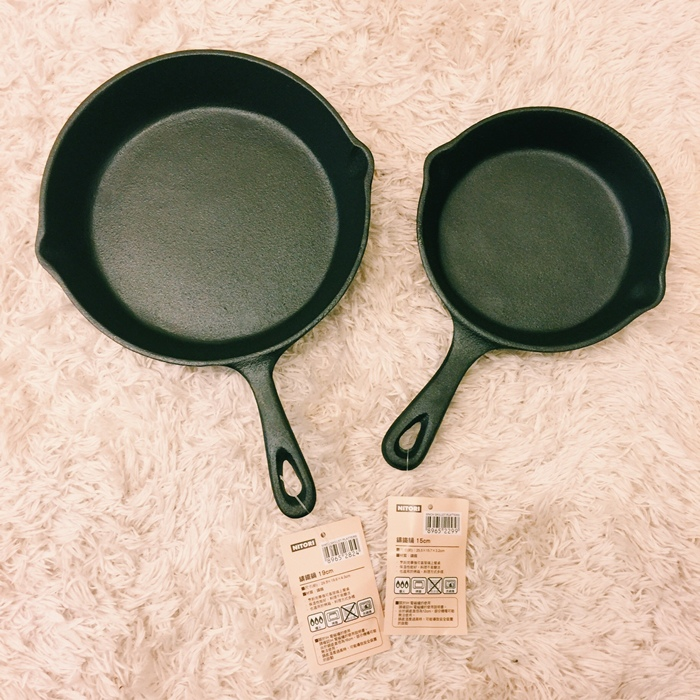 nitori宜得利小鐵鍋開鍋注意事項-15cm 19cm-開鍋料理-煎蛋-荷蘭鬆餅dutch baby (29)