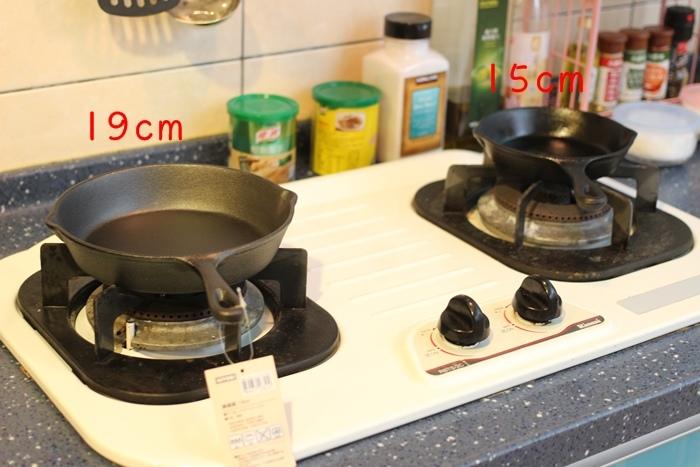 nitori宜得利小鐵鍋開鍋注意事項-15cm 19cm-開鍋料理-煎蛋-荷蘭鬆餅dutch baby (18)