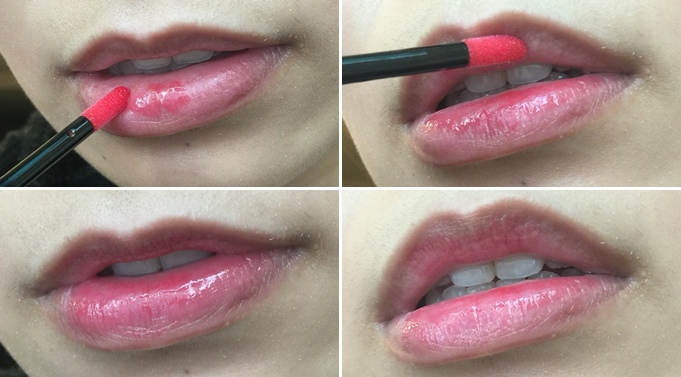 Elizabeth bon bon tint gloss 日本藥妝戰利品 血紅色唇彩 不掉色美容液唇蜜(51)