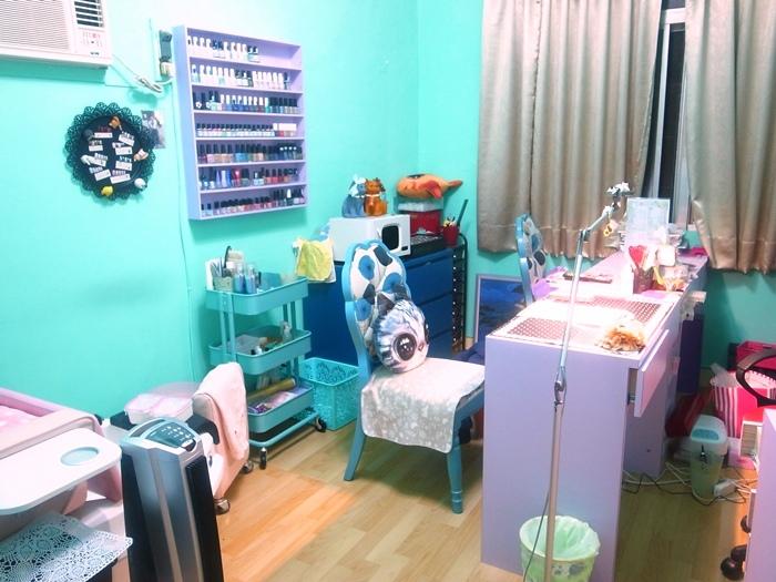 Midori nail 彌朵莉貓窩美甲室-光療美甲台北光療信義安和站-幾何光療凝膠指甲(100)