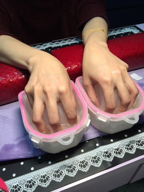 Midori nail 彌朵莉貓窩美甲室-光療美甲台北光療信義安和站-幾何光療凝膠指甲(92)