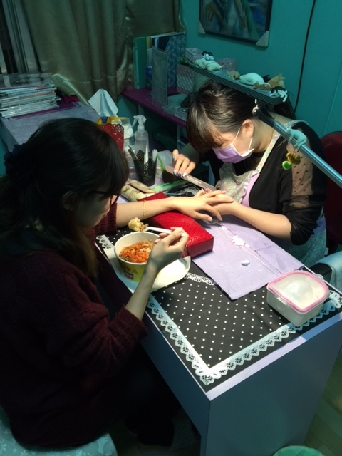 Midori nail 彌朵莉貓窩美甲室-光療美甲台北光療信義安和站-幾何光療凝膠指甲(94)