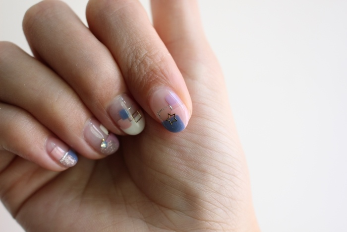 Midori nail 彌朵莉貓窩美甲室-光療美甲台北光療信義安和站-幾何光療凝膠指甲(86)