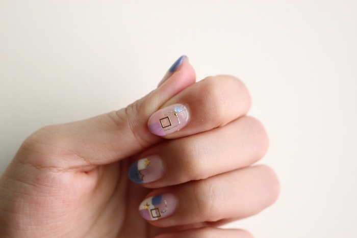 Midori nail 彌朵莉貓窩美甲室-光療美甲台北光療信義安和站-幾何光療凝膠指甲(77)