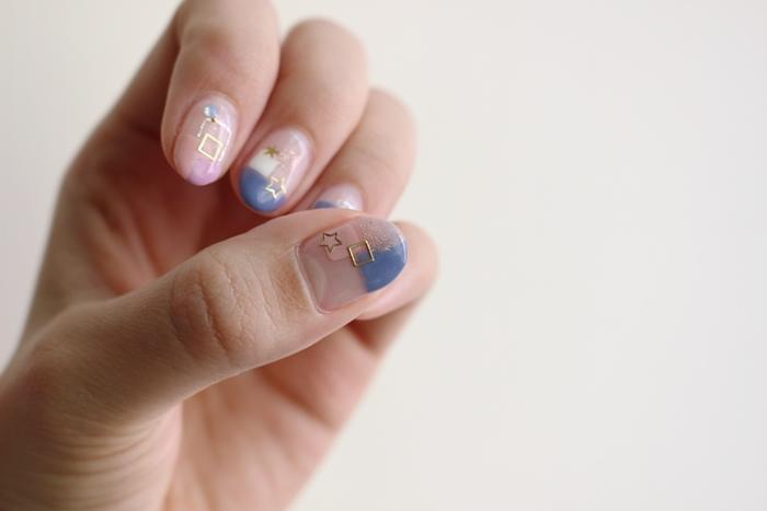 Midori nail 彌朵莉貓窩美甲室-光療美甲台北光療信義安和站-幾何光療凝膠指甲(73)
