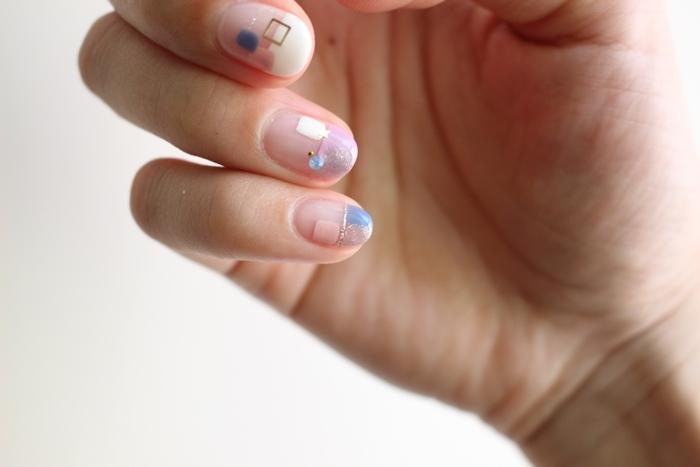 Midori nail 彌朵莉貓窩美甲室-光療美甲台北光療信義安和站-幾何光療凝膠指甲(84)