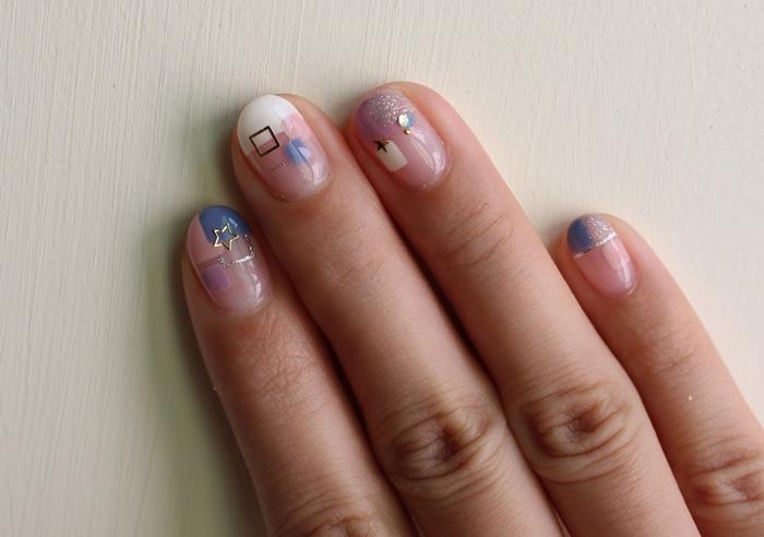 Midori nail 彌朵莉貓窩美甲室-光療美甲台北光療信義安和站-幾何光療凝膠指甲(79)
