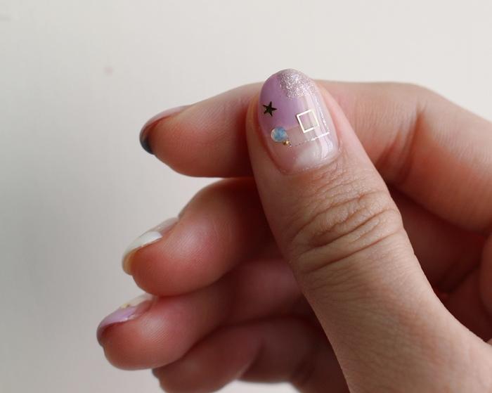 Midori nail 彌朵莉貓窩美甲室-光療美甲台北光療信義安和站-幾何光療凝膠指甲(82)