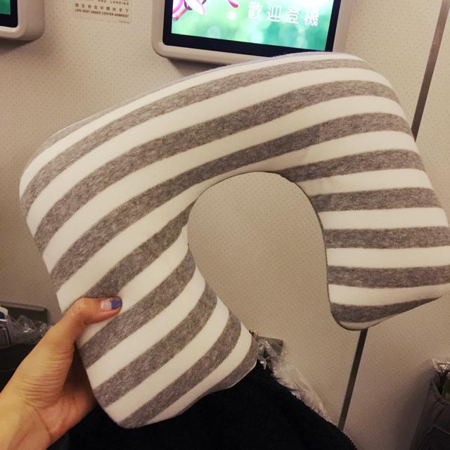 長榮菁英艙-豪華經濟艙-EVAair-台北舊金山-機上餐點-過夜包THANN (2)