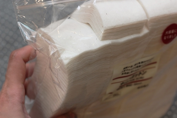 MUJI 無印良品敗家買好物-原色化妝棉180片入-化妝水濕敷 (3)