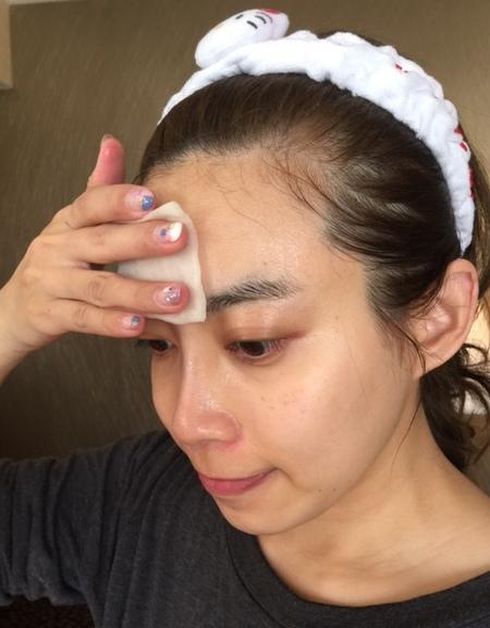 MUJI 無印良品敗家買好物-原色化妝棉180片入-化妝水濕敷 (10)