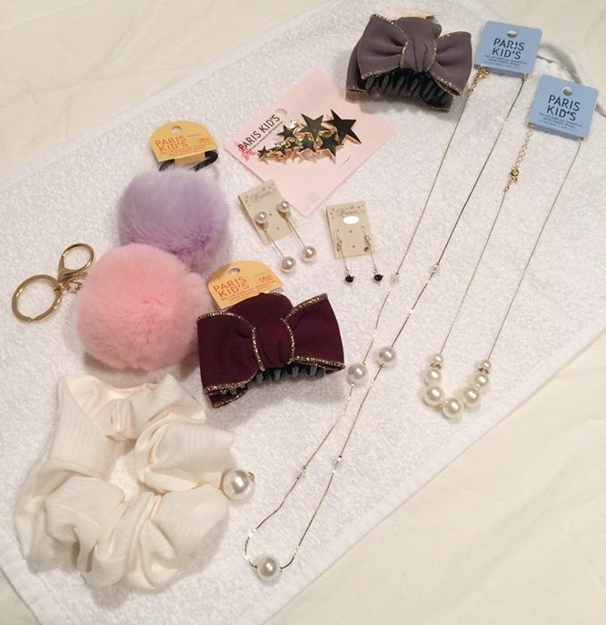 日本東京原宿shopping竹下通-Paris Kids三百元均一價飾品店-耳環項鍊髮飾 (5)