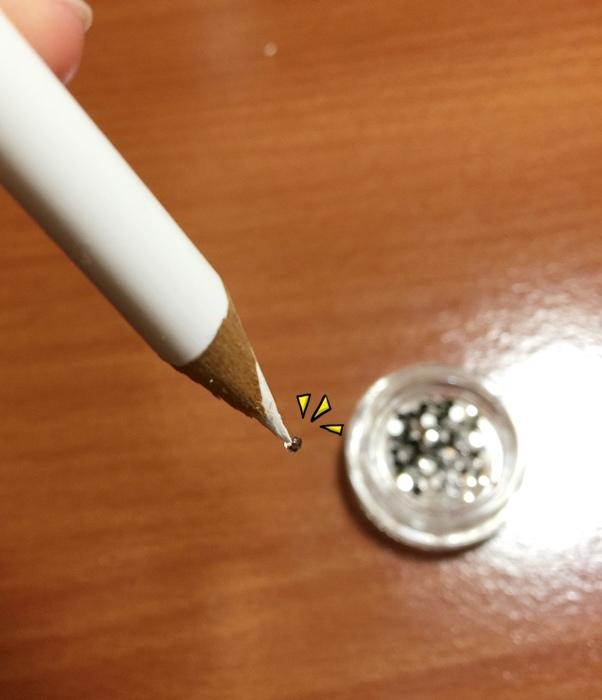 Daiso大創好物-新手美甲玩家方便入手的美甲DIY工具-光撩光療指甲凝膠指甲-光療筆彩繪筆-點珠筆-黏鑽筆-櫸木棒-畫線筆-美甲貼紙-美甲裝飾金屬片 (28)