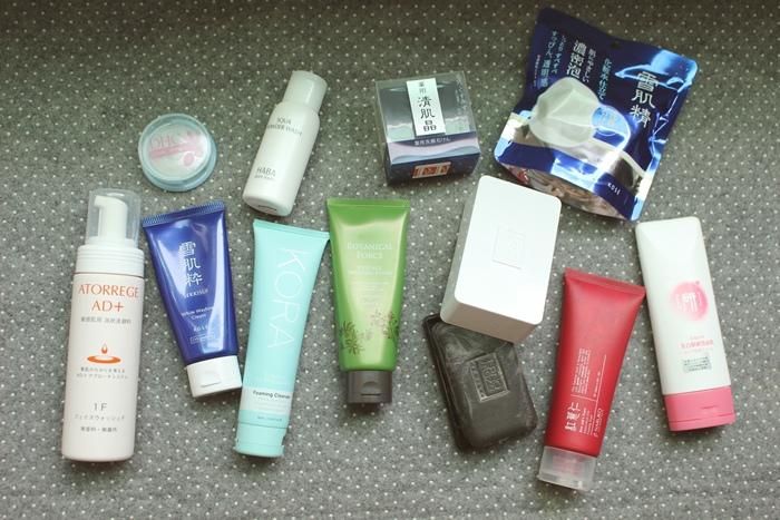 洗面乳洗面皂囤貨一覽-KORA-雪肌粹-雪肌精-AD+-清肌晶-HABA-DHC-Erno Laszlo-botanical force-大創研美白緊緻洗面乳-牛爾紅薏仁 (2)