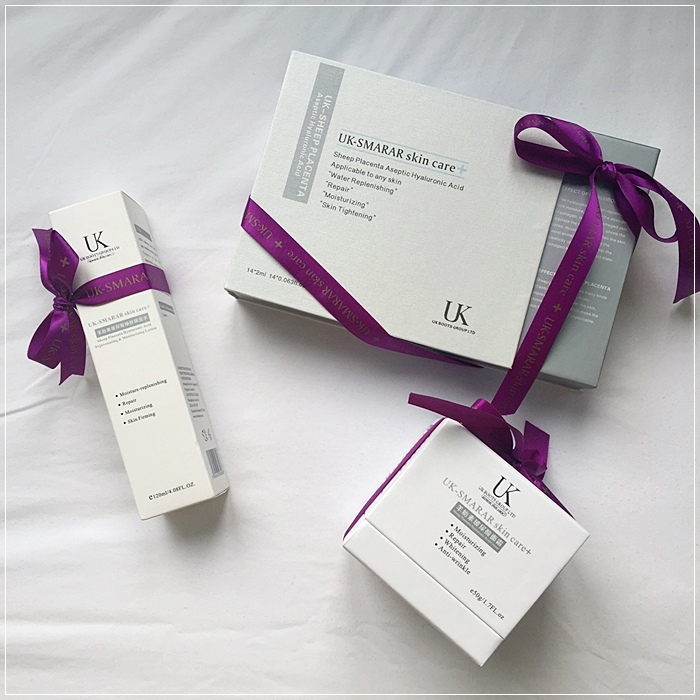 UK Boots Group英國博姿-羊胎素玻尿酸肌底液-化妝水-乳霜-UK SMARAR skin care (2)