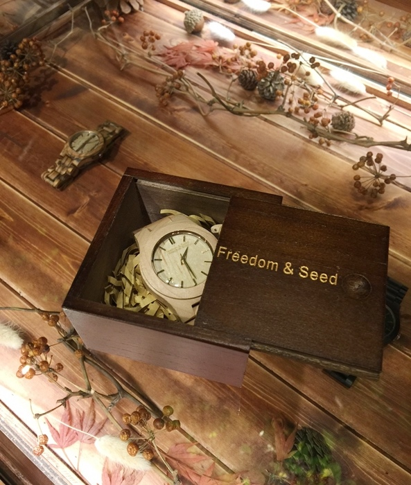 Freedom & Seed 木腕表-日本職人系列木頭手工錶-藝系列-加拿大楓木手錶-孕婦穿搭 (94)