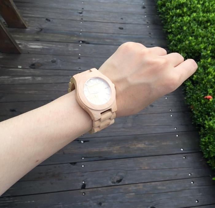 Freedom & Seed 木腕表-日本職人系列木頭手工錶-藝系列-加拿大楓木手錶-孕婦穿搭 (96)