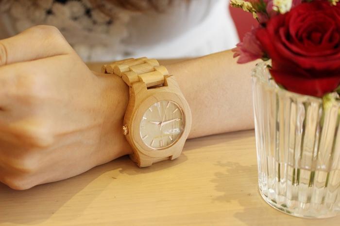 Freedom & Seed 木腕表-日本職人系列木頭手工錶-藝系列-加拿大楓木手錶-孕婦穿搭 (23)