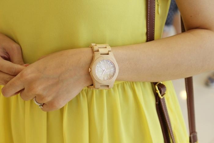 Freedom & Seed 木腕表-日本職人系列木頭手工錶-藝系列-加拿大楓木手錶-孕婦穿搭 (39)