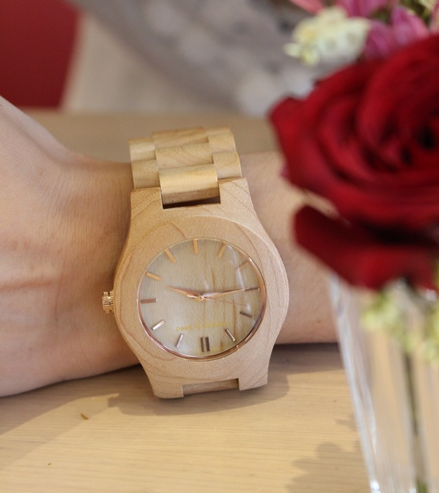 Freedom & Seed 木腕表-日本職人系列木頭手工錶-藝系列-加拿大楓木手錶-孕婦穿搭 (25)