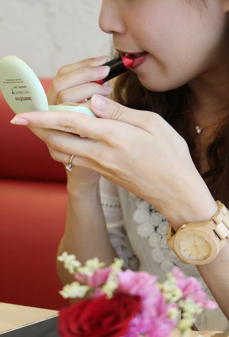 Freedom & Seed 木腕表-日本職人系列木頭手工錶-藝系列-加拿大楓木手錶-孕婦穿搭 (28)