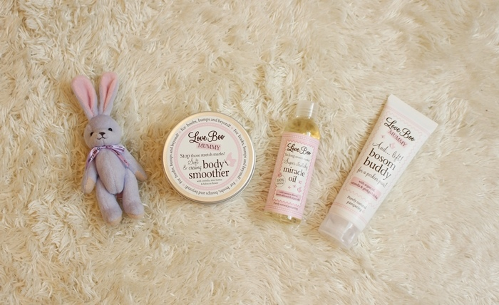 Love Boo 英國孕婦品牌-緊緻修護奇蹟油-護養緊實美胸霜-長效滋潤美體霜 (60)