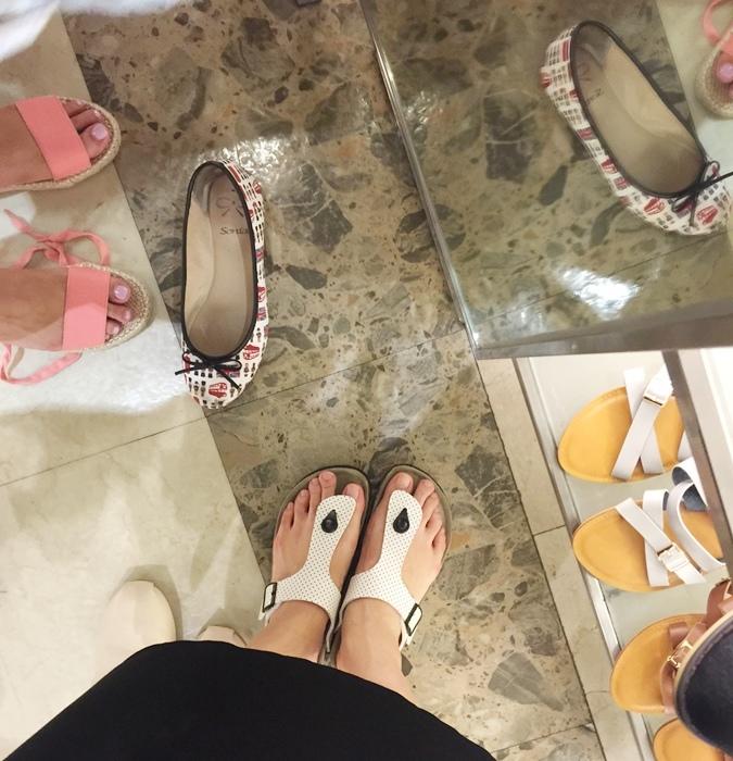 D+af 2016 忠孝SOGO百貨特賣會-豆豆鞋平底鞋涼鞋夏季鞋款-孕婦穿搭 (16)