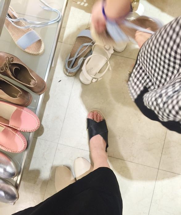 D+af 2016 忠孝SOGO百貨特賣會-豆豆鞋平底鞋涼鞋夏季鞋款-孕婦穿搭 (20)