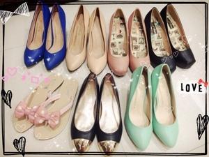 D+af 平底鞋豆豆鞋高跟鞋特賣會戰利品 (4)