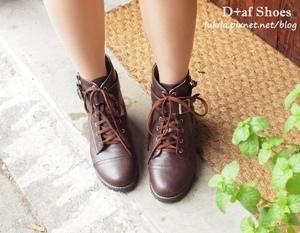 D+af特賣會平底鞋高跟鞋豆豆鞋短靴 (2)