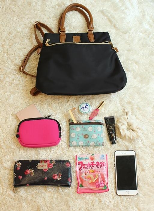 日本Macaronic Style 3way包 媽媽包-What is in my bag-包包裡有什麼-產檢包-媽媽手冊-鋼鐵線IronWire (23)
