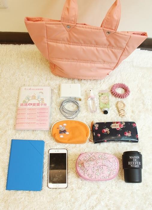 日本Macaronic Style 3way包 媽媽包-What is in my bag-包包裡有什麼-產檢包-媽媽手冊-鋼鐵線IronWire (37)
