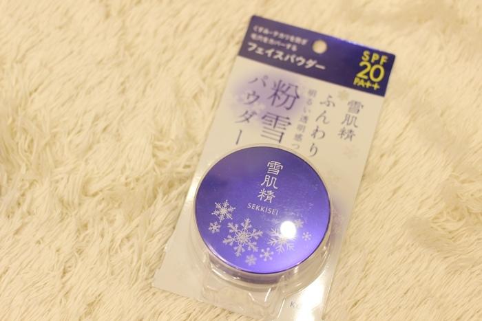 日本藥妝戰利品-粉雪-雪肌精蜜粉 (113)