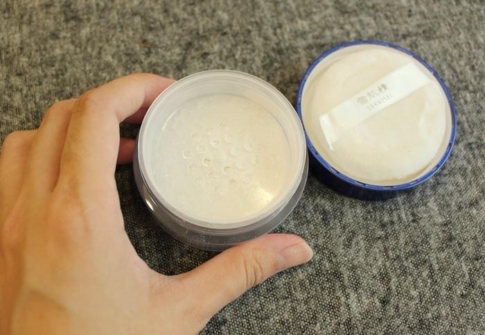日本藥妝戰利品-雪肌精蜜粉 (11)