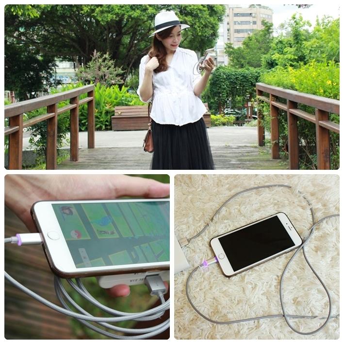 IronWire iphone充電線-永不損壞的鋼鐵線充電線-Apple iphone5 6 plus 6s適用 (900)