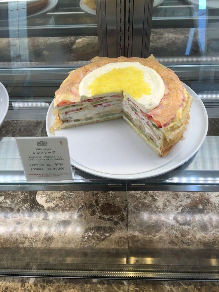 HARBS蛋糕甜點午間套餐義大利麵超划算 水果千層蛋糕 日本東京-銀座Hikarie百貨4樓 (88)