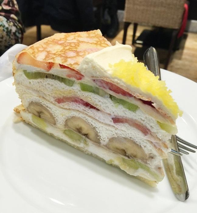 HARBS蛋糕甜點午間套餐義大利麵超划算 水果千層蛋糕 日本東京-銀座Hikarie百貨4樓 (103)