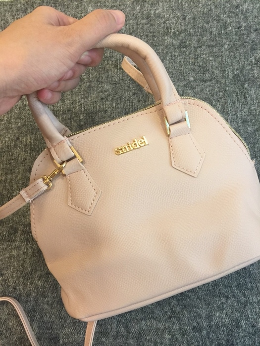 日雜贈品-Sweet 2016年9月號-snidel粉紅色手提肩背兩用小包+票卡夾 (11)