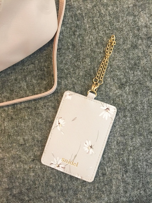 日雜贈品-Sweet 2016年9月號-snidel粉紅色手提肩背兩用小包+票卡夾 (6)