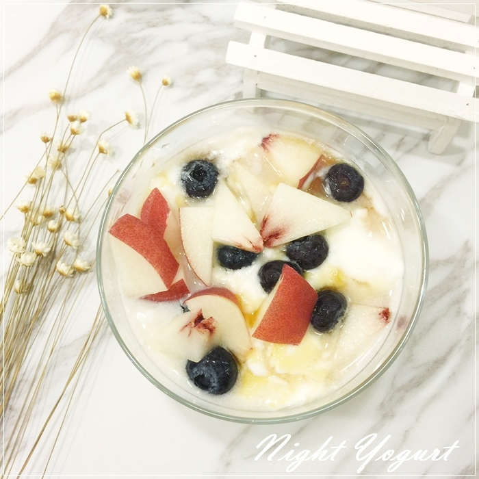 夜間優格-水果優格-藍莓優格-可可脆片優格-蜂蜜優格 (4)